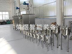 刮膜式分子天博国际平台设备的粘度变化及抛光处理